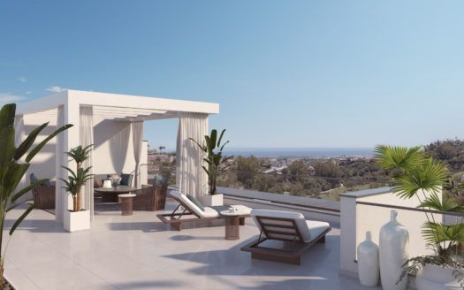 ARFA1195 - New apartment project for sale in La Quinta near Benahavis
