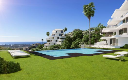 ARFA1284 - 24 apartments with best sea views for sale at Benahavis