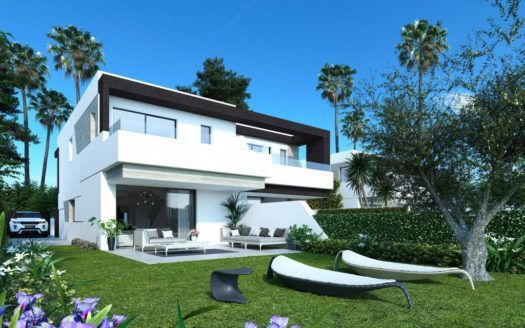 ARFTH148 - 22 modern townhouses for sale at La Resina in Estepona