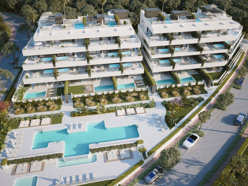 ARFA1216 - Boutique development for sale in Estepona near El Paraiso