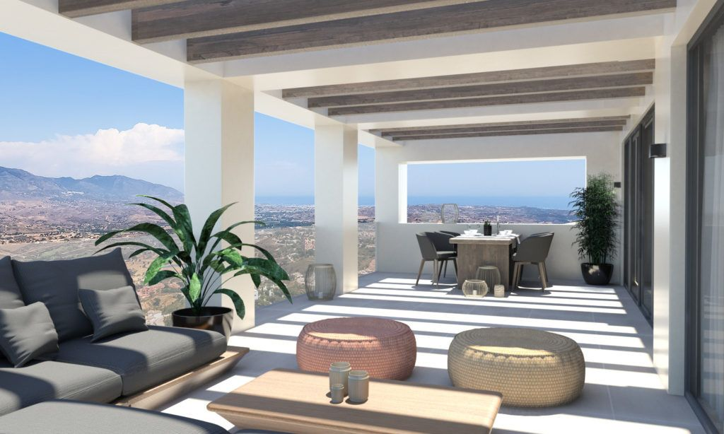 ARFTH147 - 14 townhouses for sale in La Mairena East of Marbella