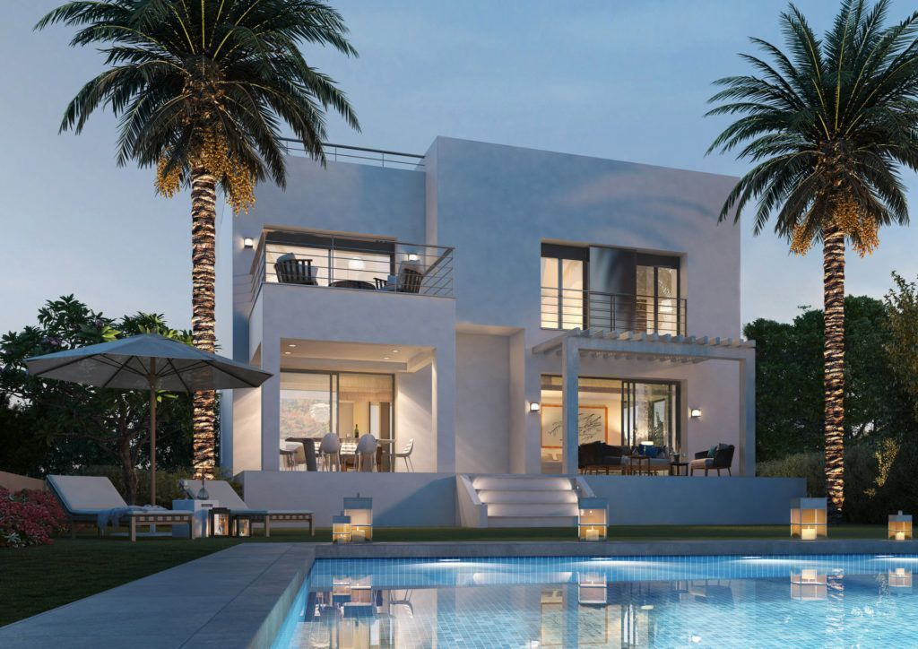 ARFV1965 - 15 contemporary villas for sale near Selwo in Estepona