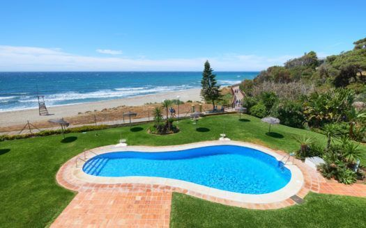 ARFA1361-298 - Frontline Beach Penthouse completely refurbished with stunning sea views in Calahonda