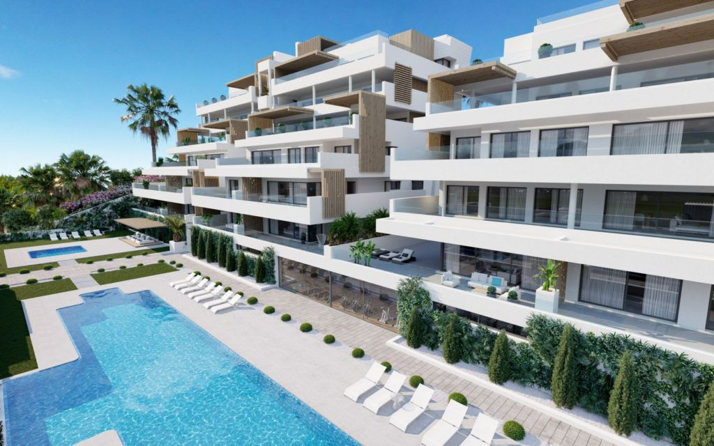 Modern apartments with sea view near Estepona Old Town