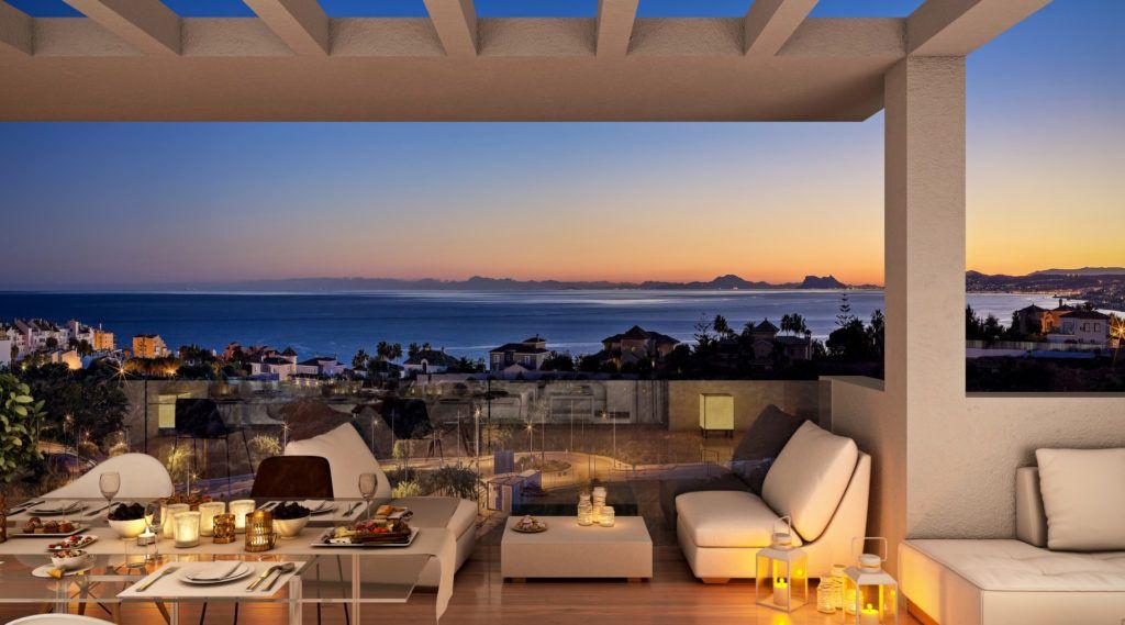 ARFA1371 - 74 apartments in excellent location and design in Estepona