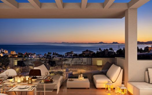 ARFA1371 - 74 apartments in excellent location and design in Estepona