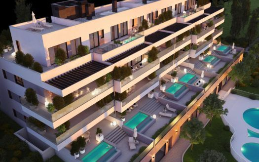 ARFA1351 - Apartments and penthouses for sale in La Cala de Mijas