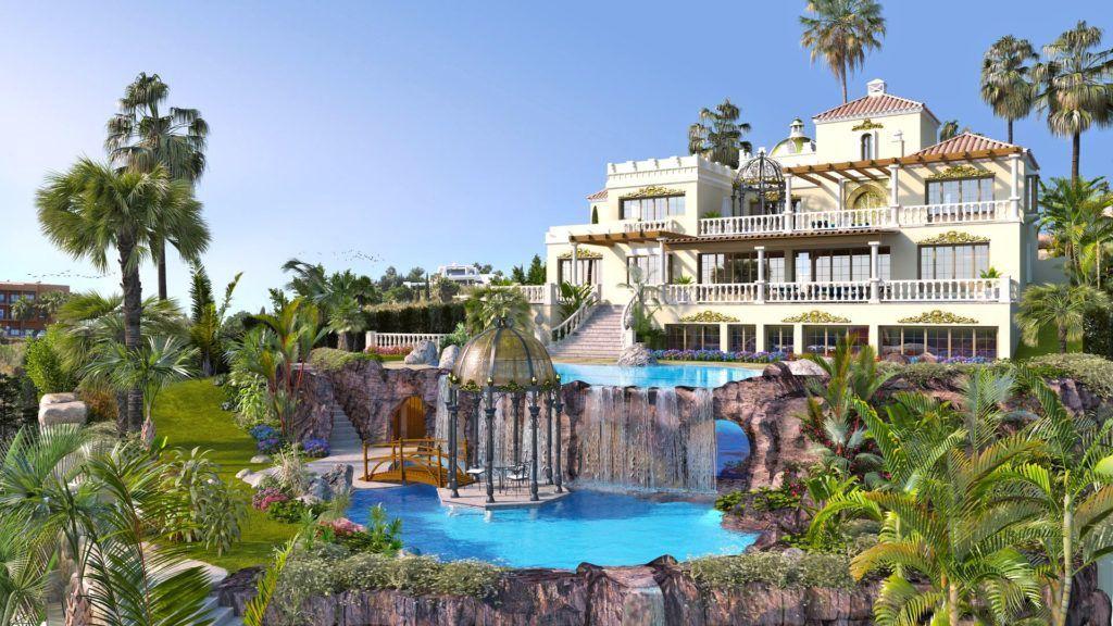 ARFV2075 - Mansion for sale in Los Flamingos in Benahavis