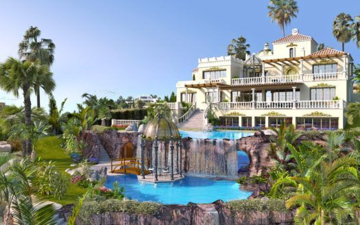ARFV2075 - Mansion for sale in Los Flamingos in Benahavis