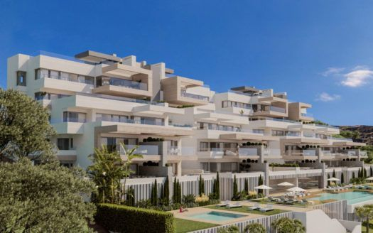 ARFA1206 - Boutique project of elegant and spacious apartments and penthouses for sale in Estepona