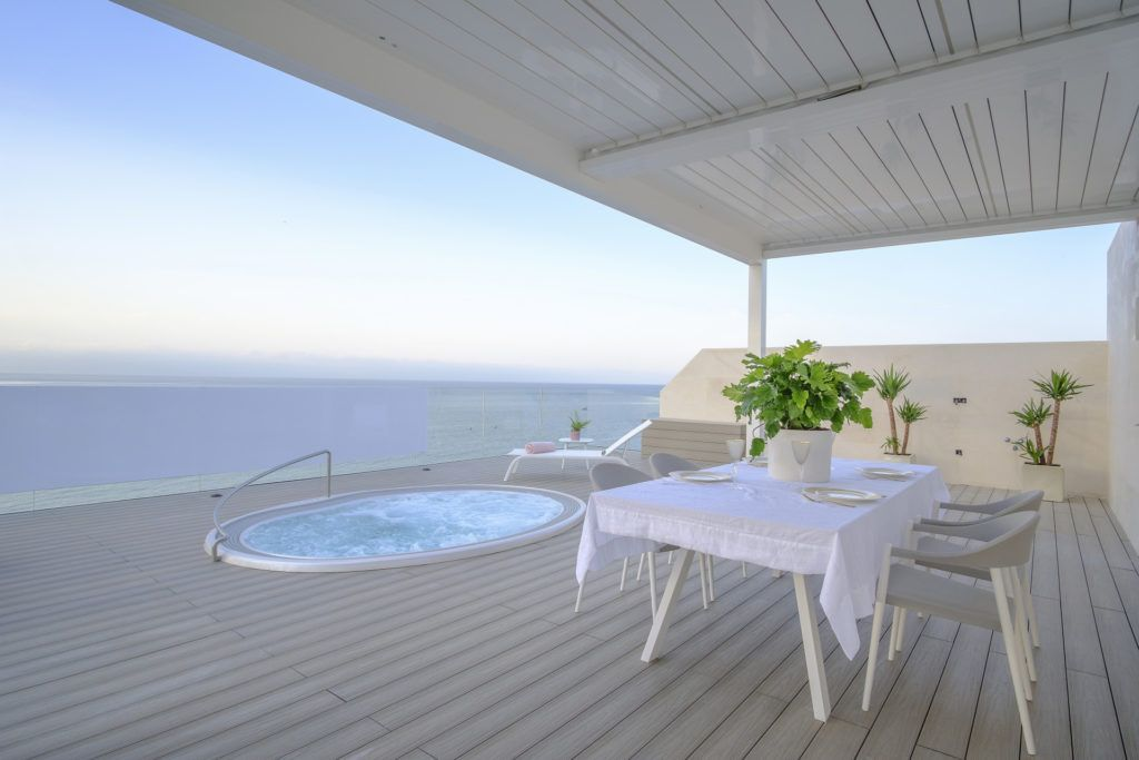 ARFA1323 - Stunning Penthouse frontline beach for sale in Estepona Centre