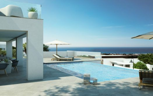 ARFA1260 - 58 modern apartments for sale near Marbella in Benahavis