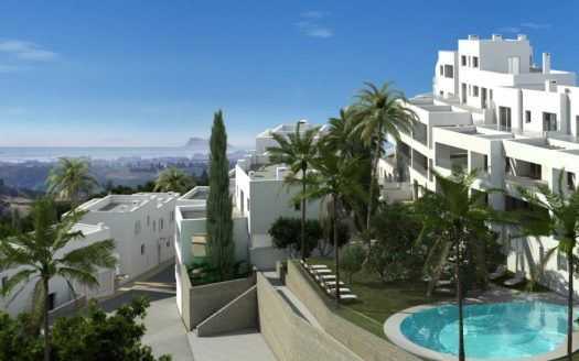 ARFA1187-2 - Projected apartments in modern style for sale in Los Altos de Los Monteros in Marbella