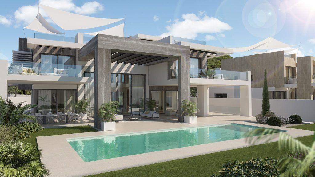 ARFV2010 - Two fantastic luxury villas for sale in Rocio de Nagueles in Marbella