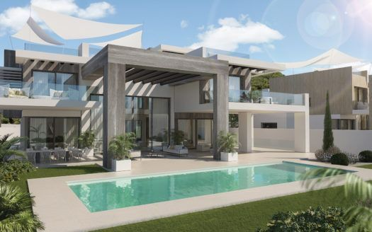 ARFV2010 - Two fantastic luxury villas for sale in Rocio de Nagueles in Marbella