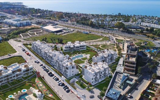 ARFA1344 - Modern apartments with partly sea views for sale in Cancelada in Estepona