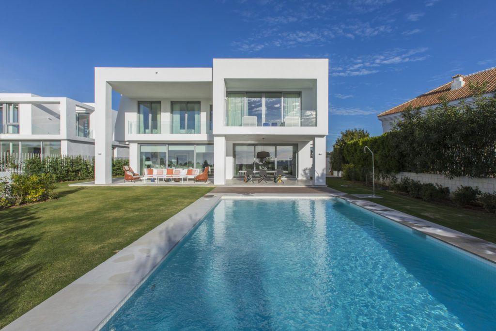 ARFV1698 - Comtemporary new villa for sale in Santa Clara Golf in Marbella