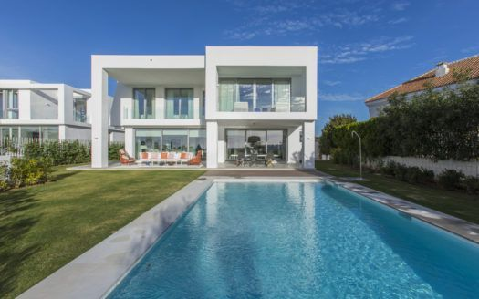 ARFV1698 - Comtemporary new villa for sale in Santa Clara Golf in Marbella