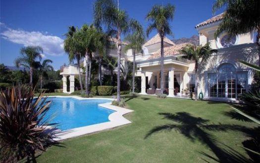 ARFV1628 - Designer Villa for sale in Sierra Blanca in Marbella