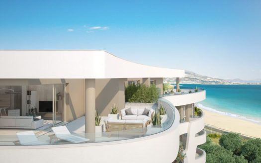 ARFA1242 - Project for modern apartments and penthouses for sale in Mijas Costa