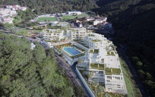 ARFA1193 - 75 modern apartments for sale in Benahavis near Marbella