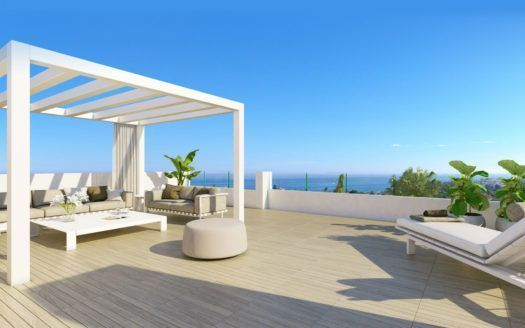 ARFA1226 - Amazing project of contemporary apartments and pentouses in Estepona for sale