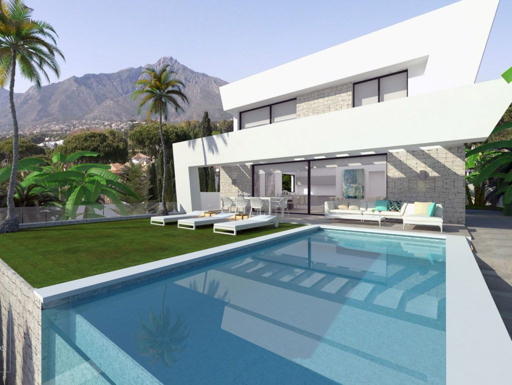 ARFV1885 - Project for 4 new luxury villas for sale in La Cala de Mijas