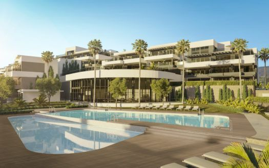 ARFA1332 - Modern residential project in Estepona City for sale