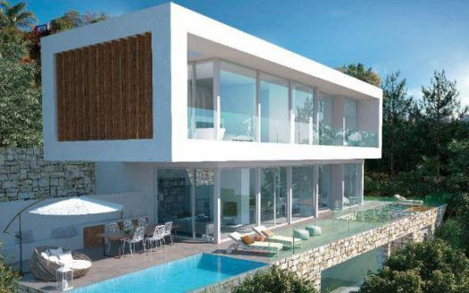 ARFV2017 - Villa for sale - Project for modern villa in El Rosario in Marbella