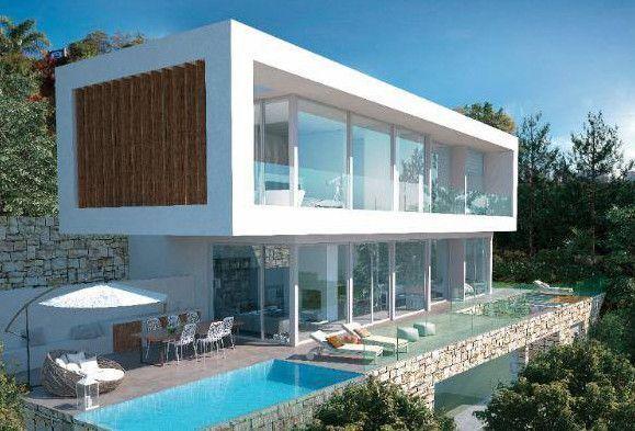 ARFV2017 - Villa for sale - Project for modern villa in El Rosario in Marbella