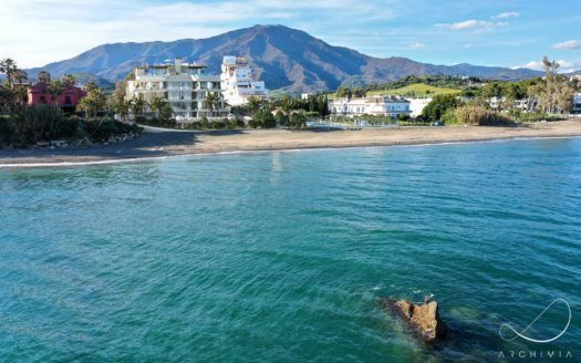 ARFA1381 - Boutique residential complex directly on the beach of Estepona