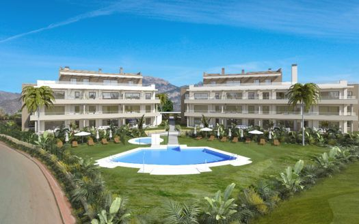 ARFA1380 - 23 exclusive new apartments and penthouses for sale in La Cala de Mijas Golf