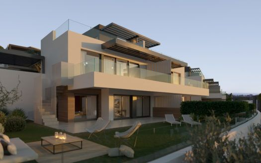 ARFV2121 - 50 semi detached villas and townhouese are being built near the beach and several golf courses at Benahavis