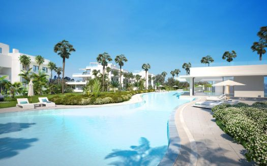 ARFA1388 - 2 corner apartments for sale in contemporary residential complex at Atalaya Golf near Benahavis