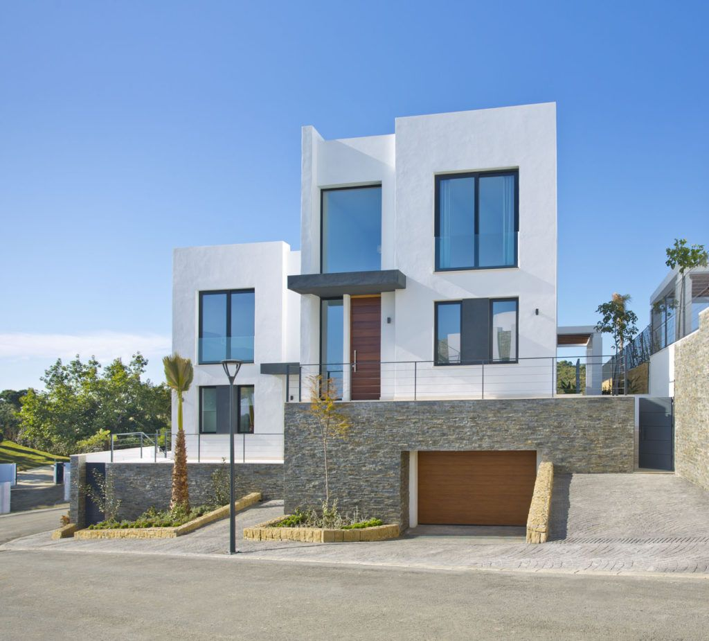 ARFV2146 - New luxury villas for sale with sea views in Artola in Marbella