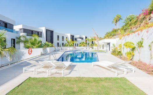 ARFA1398 - Beautiful apartment with sea views for sale in Nueva Andalucia in Marbella