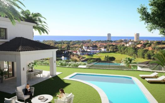 ARFV2152 - 40 Villas and semi-detached houses in golf location in Elviria in Marbella