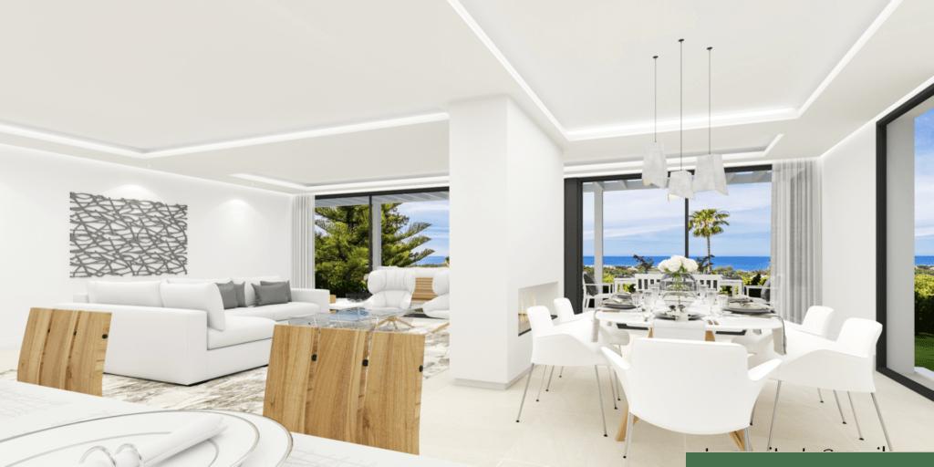 ARFV2162 - Fully renovated modern villa for sale with breathtaking views in Elviria in Marbella