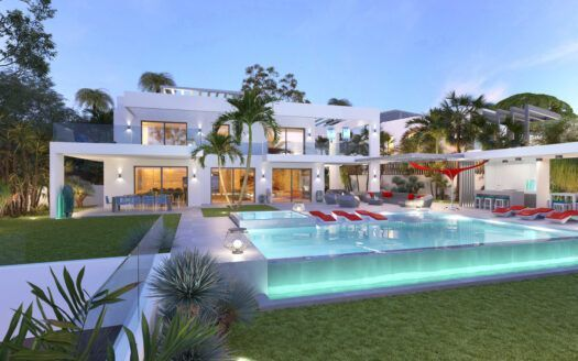 ARFV2174 - Contemporary beachfront villa with panoramic views for sale in Marbesa in Marbella