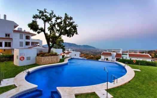 ARFA1417 - Garden corner apartment with panoramic views for sale in La Mairena
