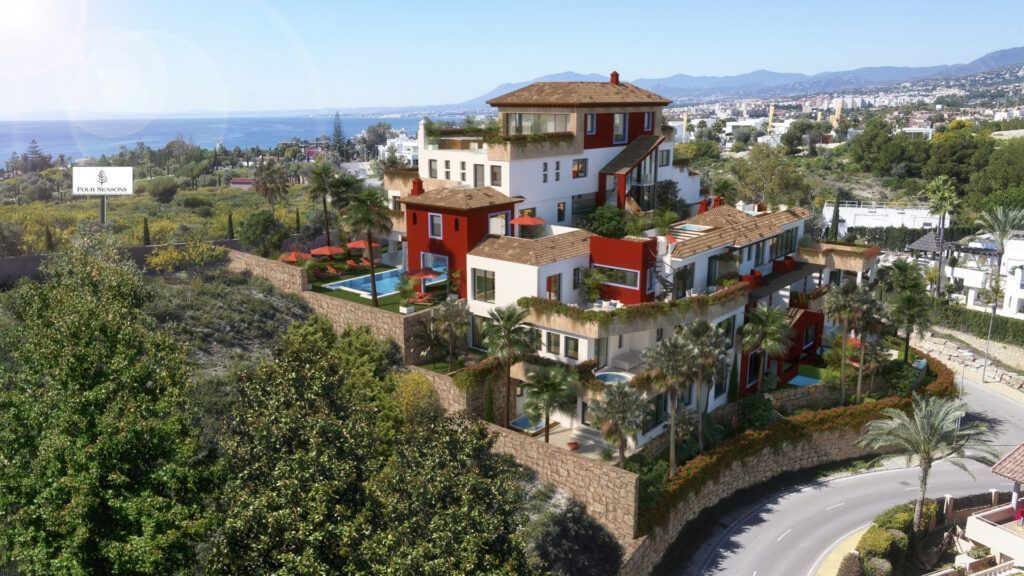 ARFA1406 - Project for modern luxury apartements for sale in Rio Real in Marbella