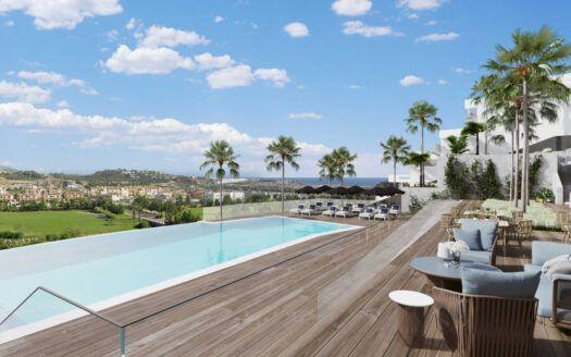 ARFA1423 - Project for new apartments in golf location for sale in La Cala de Mijas