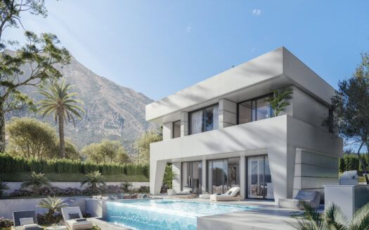 ARFV2178 Project for 14 luxury villas with modern and fresh design in La Duquesa Golf in Manilva