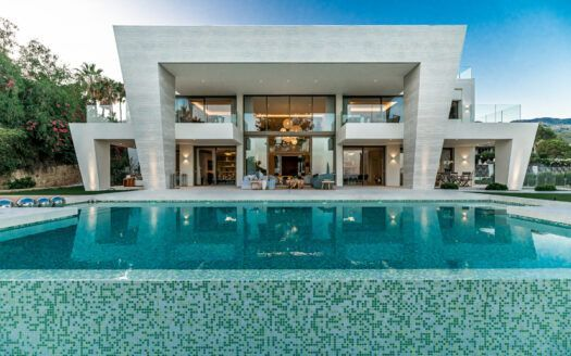 ARFV2180 - Modern stylish villa for sale in Sierra Balnca on the Golden Mile in Marbella