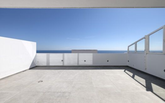ARFA1433-360 Renovated duplex penthouse first beach line in Guadalobon in Estepona