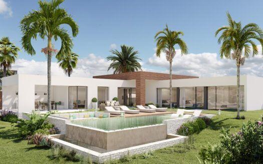 ARFV2185 Project Designer villa with privileged views in Altos de los Monteros in Marbella