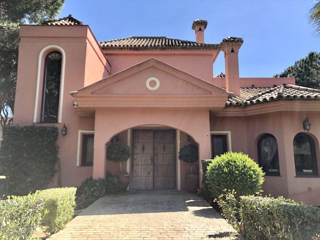 ARFV2181- Andalusian Villa for sale in Hacienda Las Chapas in Marbella