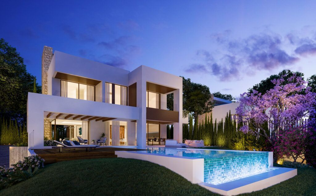 ARFV2189 – 15 luxury villas directly in Marbella on the edge of the Golden Mile