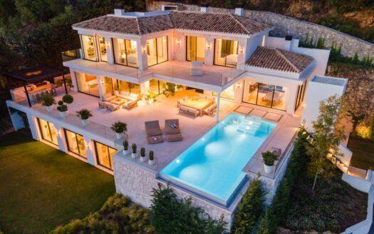 ARFV2188 Brand new villa for sale in Cascada de Camoján in Marbella