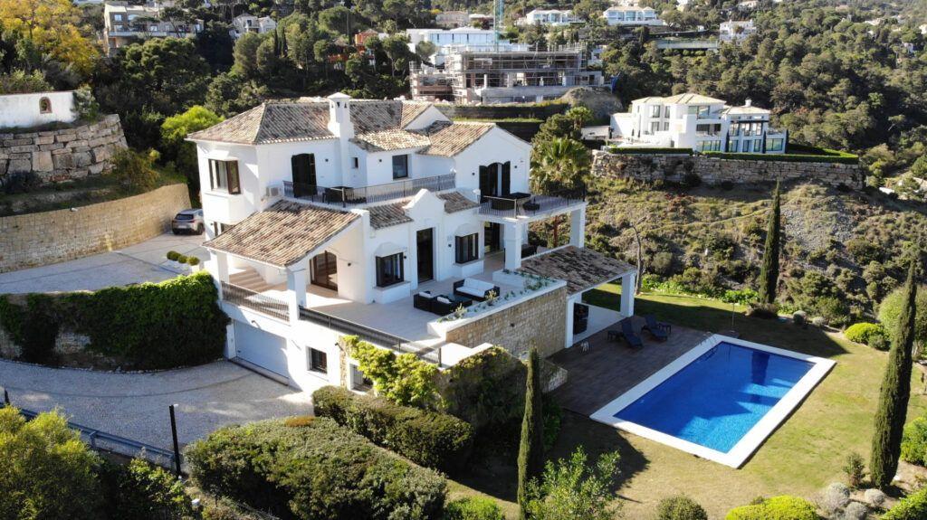 ARFV2187 Spectacular luxury villa in Urb. El Madroñal in Benhavis